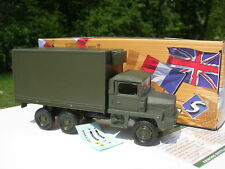 Solido 1/50 Metal militaire Camion Berliet GBC 8 KT 6x6 Shelter