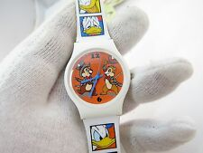 DONALD DUCK,vs CHIP & DALE,Ultra Rare! SEGA Japan MIB,KIDS CHARACTER WATCH,R3-11