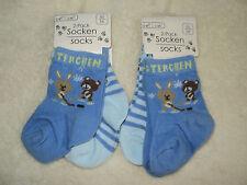 Ebi&Ebi 4 Paar Baby Socken für Jung´s Gr.50/56 NEU
