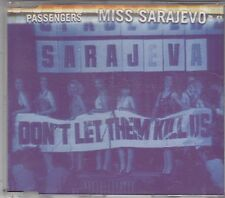 U2 / PASSENGERS - miss sarajevo CD single
