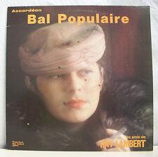 """33 tours RAY LAMBERT Disque Vinyle LP 12"""" BAL POPULAIRE - CC 79.124 Frais Reduit"""