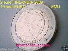 2 euro 2009 FINLANDIA 10 EMU UEM Finlande Finland Suomi Finnland 芬兰 Финляндия
