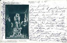 lo 107 1905 MILANO Pinacoteca di Brera - Madonna del Luini -viagg -FP