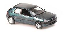 Minichamps 1:43 PEUGEOT 306 - 1998 - GREEN METALLIC