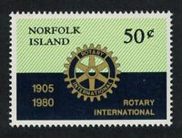 Norfolk 75th Anniversary of Rotary International MNH SG#235 SC#255
