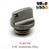1PC Universal CNC Aluminum Alloy Modified Motorcycle Fuel Gas Cover Tank Cap Kit
