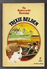 Trixie Belden Kathryn Kenny pb 15 Mystery on the Mississippi Series Teen fiction