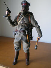 "SIDESHOW 12"" 1/6 WWI GERMAN OFFICER WESTERN FRONT 1917 Bayonets Barbwire custom"