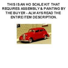 "HO SCALE: ""1938 PLYMOUTH 4-DOOR SEDAN"" by Sylvan-Kit #V-094"