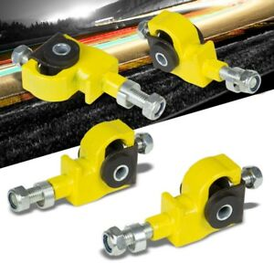 Yellow Adjustable Front Camber Adjuster Suspension for Honda/Acura Civic/Integra