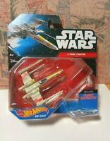 Hot Wheels Star Wars Starship X-Wing Fighter Red 5 / Die Cast NIB
