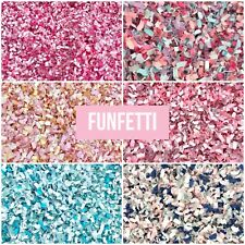 Pink Blue Biodegradable Tissue Paper Throwing Table WEDDING CONFETTI Flutterfall