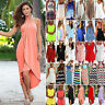 Women Summer Short Mini Dress Casual Beach Wear Cover Up Swimwear Party Sundress