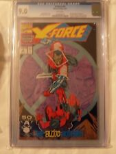 X-Force #2 (Sep 1991, Marvel) CGC 9.0
