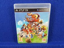 ps3 ONE PIECE UNLIMITED WORLD RED Game Playstation PAL UK REGION FREE