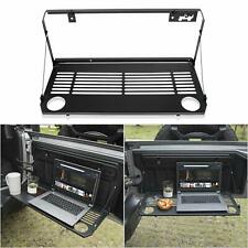 Foldaway Tailgate Table Flexible Rear Door Table for Jeep Wrangler 2018 2019 JL