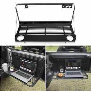 Foldaway Tailgate Table Flexible Rear Door Table for Jeep Wrangler 2018-2020 JL