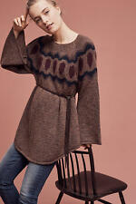Anthropologie Royanna  Poncho  Pullover by Sleeping On Snow M NWT New