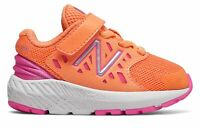 New Balance Kid's FuelCore Urge Infant Girls Shoes Orange with Pink