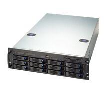 12x SATA Storage Server, 9650SE-8LPML, SATA II, Intel S5000PSL, Gewährleistung