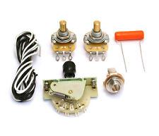 3-way Standard Wiring Kit for USA Fender Telecaster/Tele® WKT-STD3