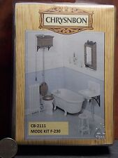 Dollhouse Miniature Bathroom Set Tub Kit Chrysnbon 1:12 scale F19 Dollys Gallery