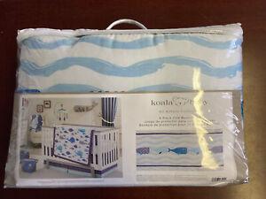 Koala Baby Boy 4 Piece Crib Bumper Set