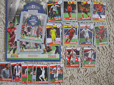 Panini SUPERSTARS FAMILY  TESCO ALBUM PACKETS EURO 2016 complete set cards