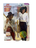 "Mego Jimi Hendricks 8"" Action Figure NEW on Card"