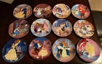 Disney's Beauty and the Beast - 12 Knowles Bradford Exchange Collector's Plates