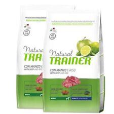Trainer Natural Adult Maxi 12 5kg diversi gusti Manzo riso e Ginseng