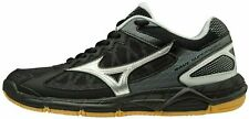 New Mizuno Wave Supersonic Women's Volleyball Shoes Black Silver Size 7 $80