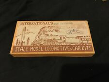 International's Scale Model Locomotive And Car Kits Prr Stock Car Ho Scale