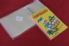 BUSTE PROTETTIVE PER FUMETTI TOPOLINO - PACCO DA 100 PZ - 14 x 19,5