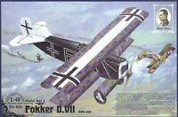 Roden 418 - 1:48 Fokker D.VII ( OAW) ''Walter Blume'' - Neu