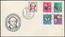 Schweiz Ersttagsbrief Mi.Nr. 602-606 Pro Juventute FDC Mi.Wert 70€ (6595)