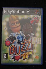 PS2 : BUZZ! THE SPORTS QUIZ - Nuovo, risigillato, ITA ! 6 nuovi round sportivi !
