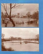 More details for 3 victoria bridge river wye  hereford floods flooding  d j d desmond ref  y248