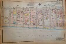 1925 UPPER EAST SIDE MANHATTAN NY 67TH-71ST & AV A - 3RD AV GW BROMLEY ATLAS MAP