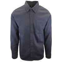 Rip Curl Men's Navy Red Spot L/S Flannel Shirt (S14)