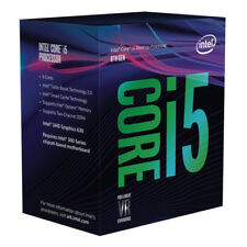 Intel Core i5-8600 3.1Ghz s1151 Coffee Lake 8th Generation Boxed 3 Years Warrant
