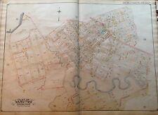 Orig 1908 E. Belcher Hyde Corona P.S. 17 Queens Ny Plat Atlas Map