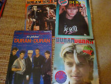 More details for duran duran mag bundle 80s pop pow posters