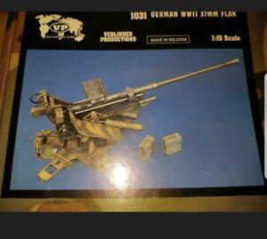 Verlinden 37mm Flak 1:16 120mm Resin