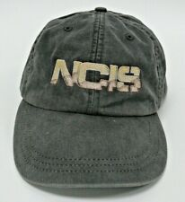NCIS TV Show Season 1 2003 Baseball Hat Cap for Crew Charcoal Gray Pre-owned