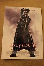 Blade II (2002) Polish promo PostCard
