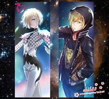 Anime YURI!!! on ICE Yuri Plisetsky Dakimakura Pillow Case Cover Hugg Body #B53