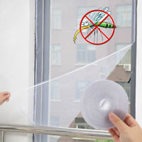 Practical Window Mesh Door Curtain Snap Net Guard Mosquito Fly Bug Insect Screen