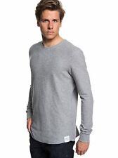 Quiksilver Men's Hakone Spring Grey Sweatshirt MEDIUM NEW IN PACKAGE #EQYKT03787