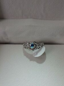 Fragrant Jewels Mermaid Ring Size 7 Sterling Silver